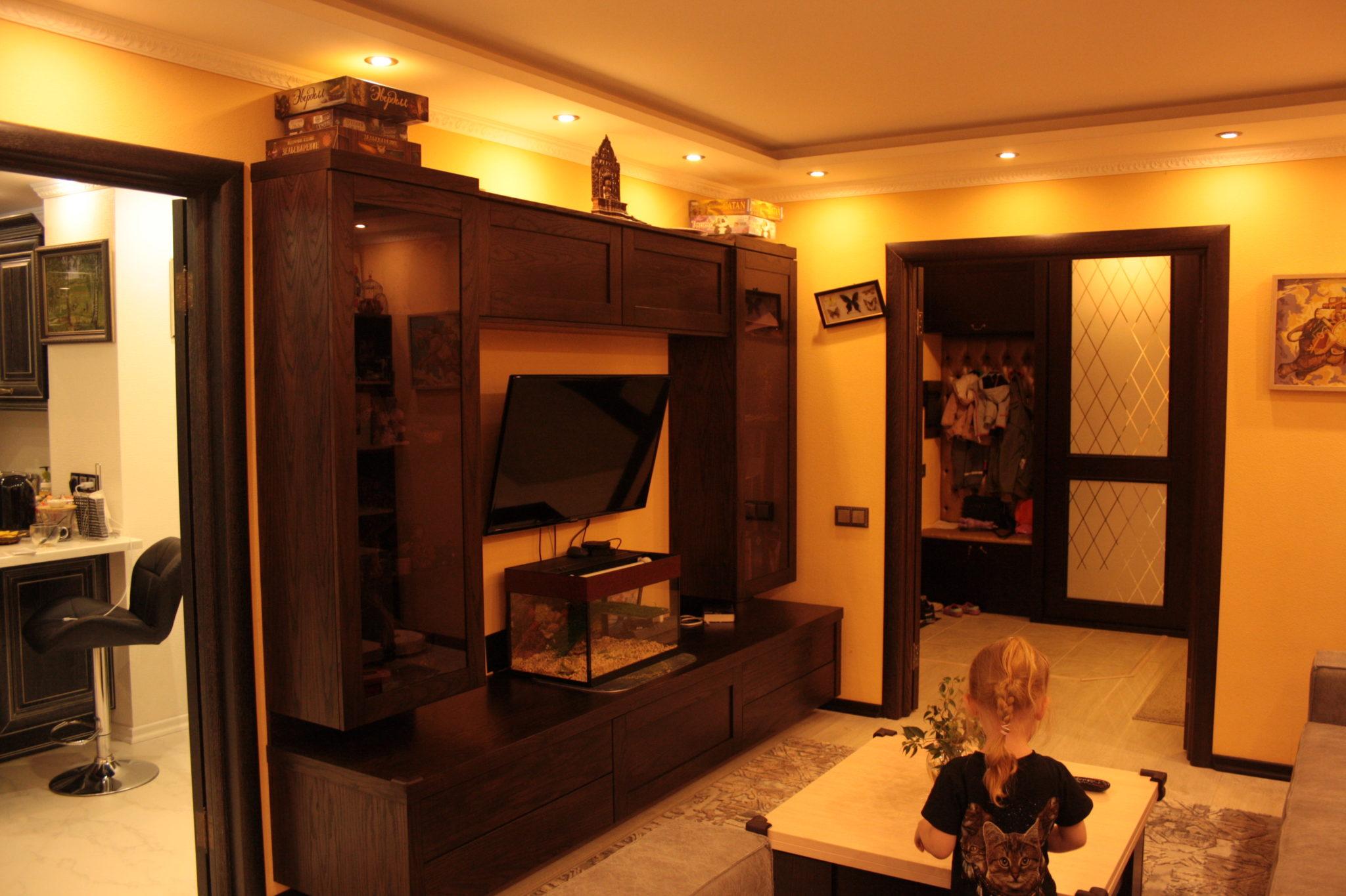 мебель для гостиной из массива дуба