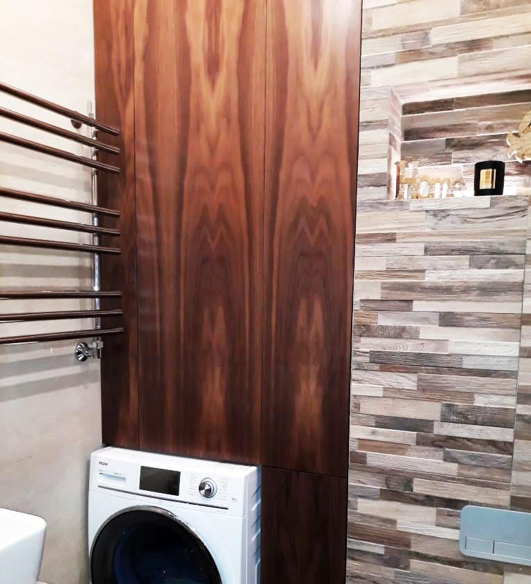 Шкаф для ванной из Американского Ореха