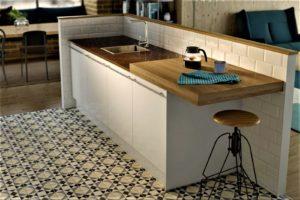 Кухня для маленькой студии